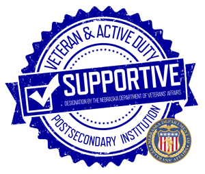 Veteran and Active Duty Supportive seal